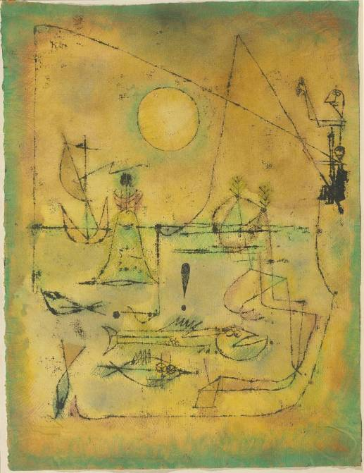 They're Biting 1920 by Paul Klee 1879-1940