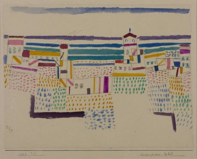 Seaside Resort in the South of France, 1927