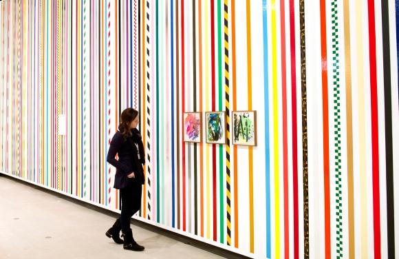 Martin Creed at Hayward Gallery, London. Photo by Linda Nylind. 26/1/2014.