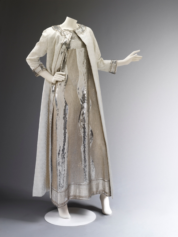 Evening_dress_of_embroidered_net_and_matelasse_coat_designed_by_Mila_Sch+Ân_1966