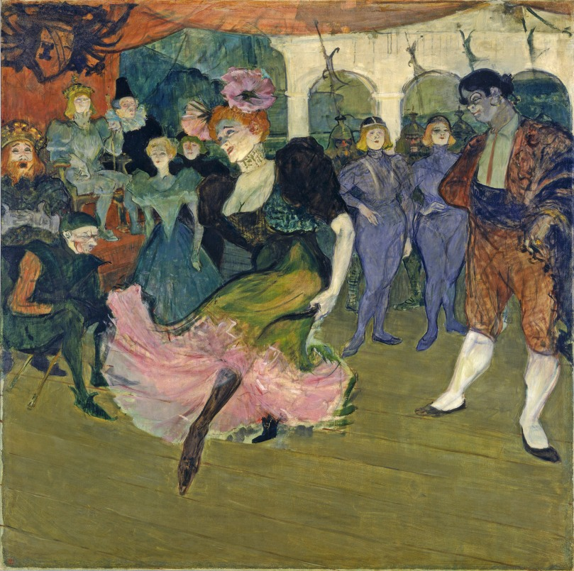 Marcelle Lender Dancing the Bolero in 'Chilperic', 1895 (oil on canvas)