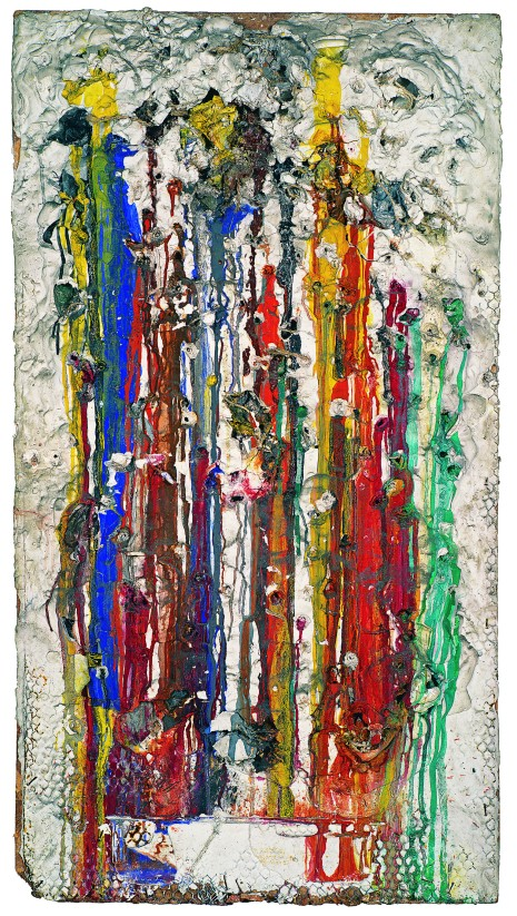 Grand tir - séance Galerie J, 1961