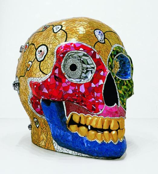 Skull (méditation room), 1990