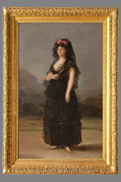 Maria Luisa with Mantilla 1799