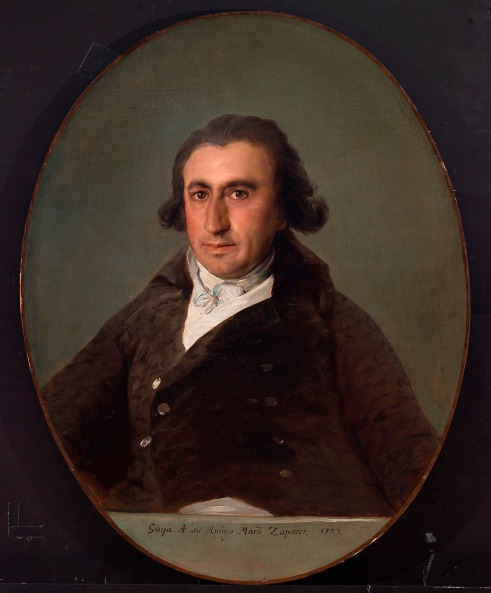 Portrait of Martín Zapater, 1797