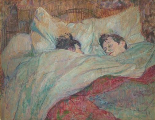 17. Toulouse-Lautrec_Dans le lit