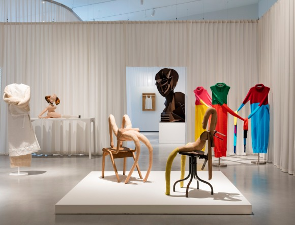 Installation shot of Disobedient Bodies JW Anderson curates The Hepworth Wakefield Photo Lewis Ronald Courtesy The Hepworth Wakefield